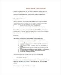 job proposal template free download edit fill create and print