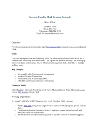 Best Objective Lines For Resume by Terrific Accounts Clerk Resume With Personal Data Letterhead And
