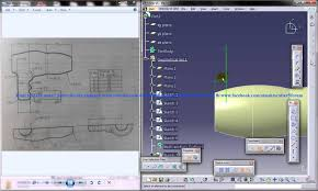 catia v5 tutorial product engineering how to create a hair dryer