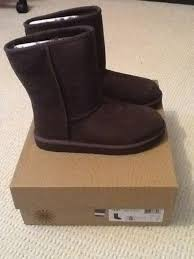 ugg womens boots uk brand ugg boots in chocolate brown size uk 4