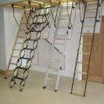 heavy duty garage attic stairs pull down functional attic stairs