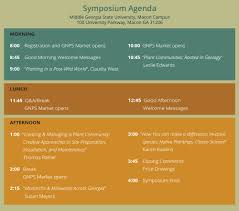 ga native plant society 22nd annual symposium i registration open gnps