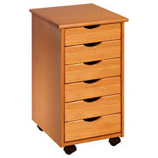 Mobile File Cabinet Adeptus Pine Mobile File Cabinet C0008 The Home Depot