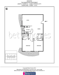 spacious lovely unit with three balconies in zenith tower a1 3villaz