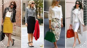 pencil skirts fashion trends 2018 professional pencil skirts