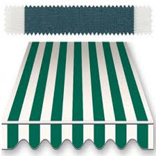 Striped Awning Recacril Classic Stripes Green White 47 Inch R 014 Awning And
