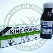 king cobra oil tanduk rusa supplement