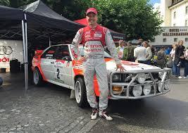 audi days audi racing legends stuck röhrl and biela at days schloss