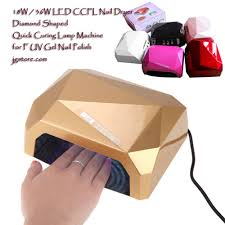 18w 36w led ccfl nail dryer diamond shaped quick curing lamp