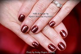 gelish festive nails funky fingers factory