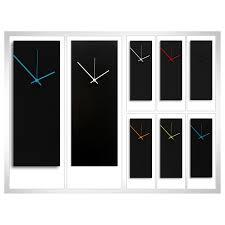 modern kitchen clock black wall clock contemporary for decoration u2013 wall clocks