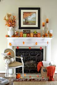 fireplace mantel decor ideas for thanksgiving marc and mandy show