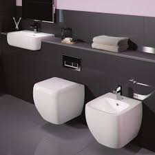 rak ceramics metropolitan square wall hung toilet u0026 basin inc