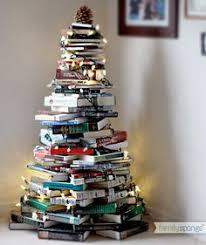 stack of books glass ornament steunk book