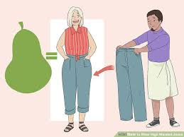High Waisted Colored Jeans How To Wear High Waisted Jeans With Pictures Wikihow