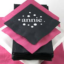 for all occasion personalized napkins 50 pcs personalized