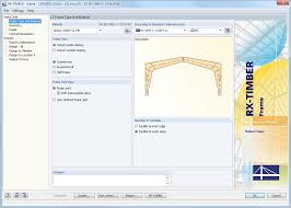 Free Timber Truss Design Software by Rx Timber Package 3 Modules For Timber Design Dlubal Software