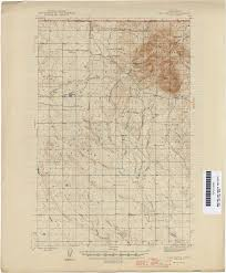 Map Montana Montana Topographic Maps Perry Castañeda Map Collection Ut