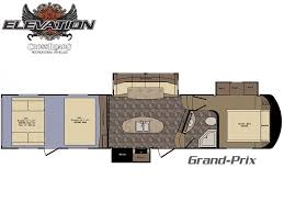 Toy Hauler Floor Plans Elevation Toy Haulers