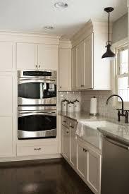 backsplash kitchen with off white cabinets kitchen design off