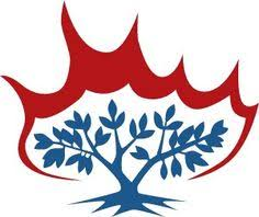 Barn Burning Symbolism Presbyterian Burning Bush Symbol Google Search Presbyterian