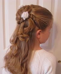 Frisuren Lange Haare F Kinder by Die Besten 25 Blumenmädchen Frisuren Ideen Auf