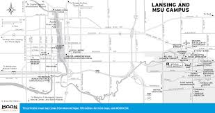Lansing Michigan Map by Printable Travel Maps Of Michigan Moon Travel Guides