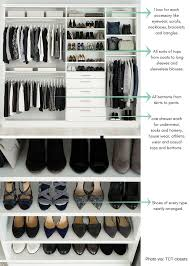 organize closet wardrobe tips and ideas