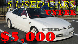 best used lexus under 10000 top 5 best cheap used cars under 5000 youtube