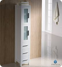 12 inch wide linen cabinet fresca torino 12 transitional bathroom tall linen side cabinet white