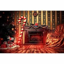 online shop allenjoy photography backdrop fireplace christmas tree