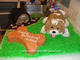 coolest dog and bone cake homemade dog homemade and cake