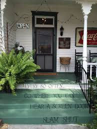 the front porch in vinings rustic vintage decor vintage decor