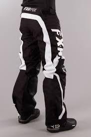 fxr motocross gear fxr factory rd otb mx pants black white now 45 savings 24mx