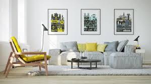 Grey Livingroom by Grey And Lemon Living Room Living Room Ideas