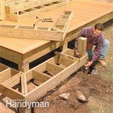 Diy Decks And Patios Dream Deck Plans Family Handyman