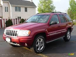 jeep grand cherokee red interior 2004 inferno red pearl jeep grand cherokee overland 4x4 8971933