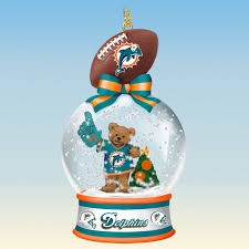 miami dolphins snow globe ornaments your 1st one is free the