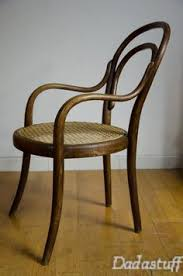 Thonet Bistro Chair Antique Set Of 4 Bentwood Cane Seat Cafe Bistro Chairs Thonet