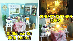 tiniest kitchen ever diy miniature dollhouse kitchen kit with tiniest kitchen ever diy miniature dollhouse kitchen kit with lights