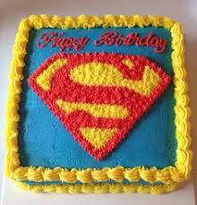 bolo original e bem criativo para festa super homem estilo de