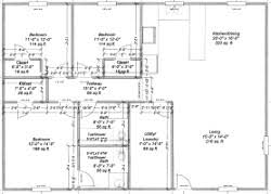 Two Bedroom Floor Plans In Pole Barns Online The Best Barn House Free Floor Plans For Barns