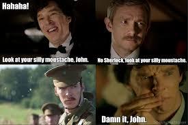 Meme Moustache - sherlock moustache by sabinzie on deviantart