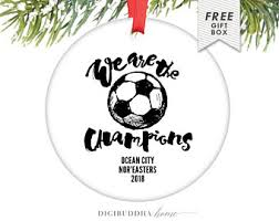 soccer ornaments to personalize christmas vinyl sports ornament glitter ornament personalize