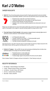 Sample Resume Format In Australia by Music Industry Resume Samples Free Resume Example And Writing