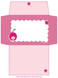 letter writing paper printable stationery envelope cute pink by cherrybomb 81 deviantart com on printable letters