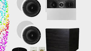 home theater solutions theater solutions 5 1 home theater 8 ceiling speaker set with