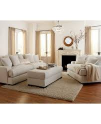 Macy S Sofa Covers by Ainsley Fabric Sofa With 4 Toss Pillows Created For Macy U0027s