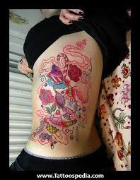 27 best girly full back tattoo designs images on pinterest free