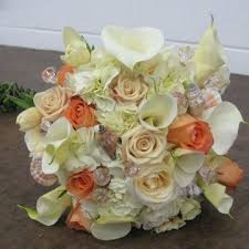wedding bouquets with seashells wedding bouquets